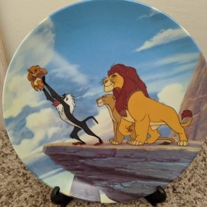 Authentic Lion King plate